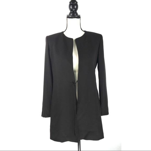 MaxMara Jackets & Blazers - MAX MARA Brown Virgin Wool Cardigan Jacket Blazer